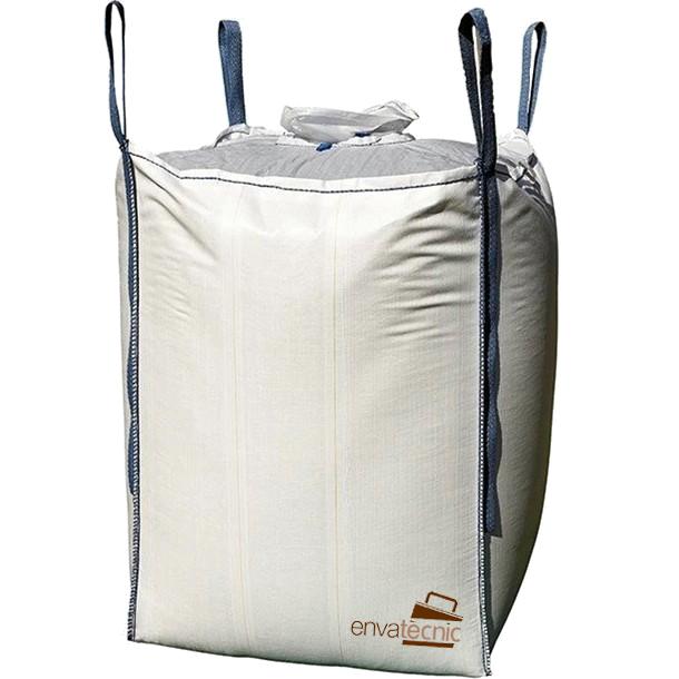 bolsa grande basura blanca