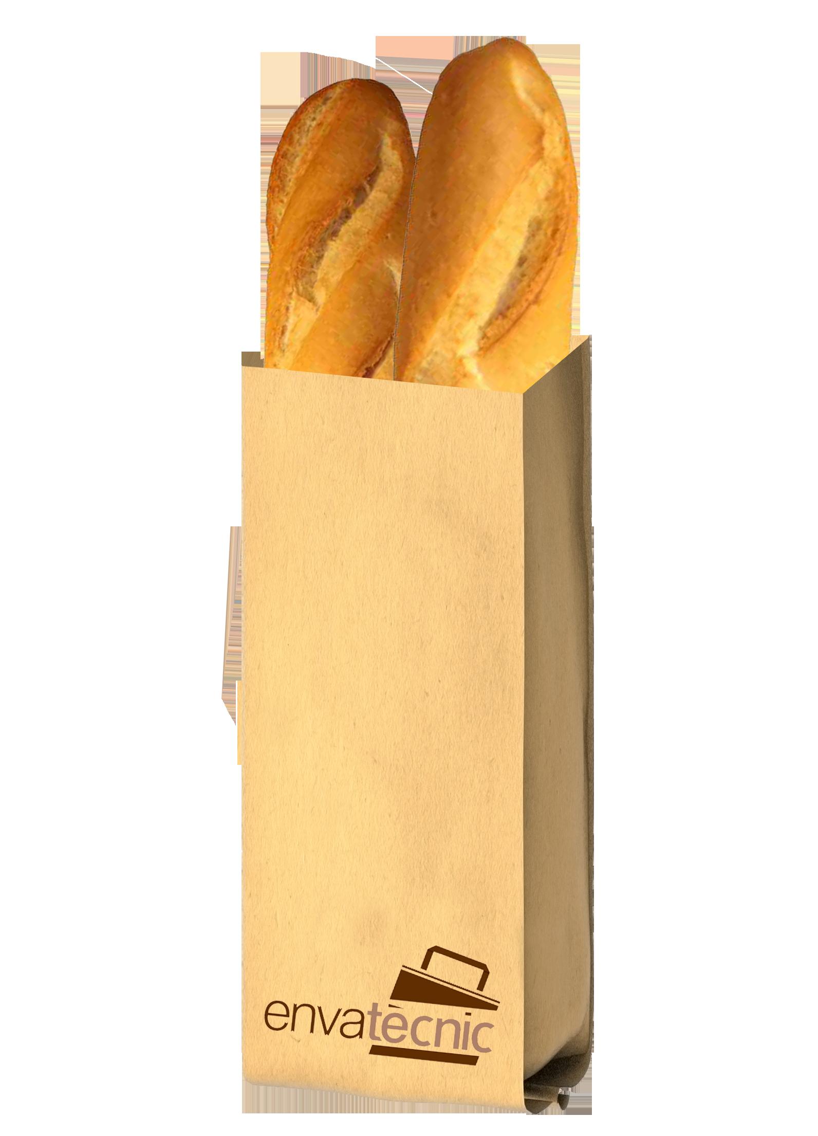 saco de papel para el pan