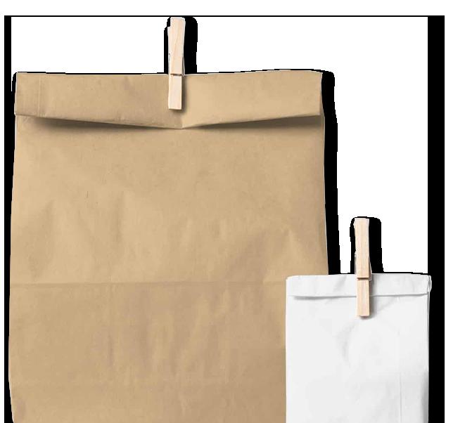 Envatecnic. Sacos de papel para envases y embalajes